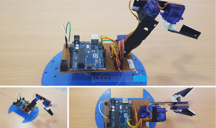 How to build a simple arduino robotic arm diy