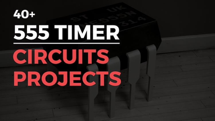 simple 555 timer circuits  u0026 projects