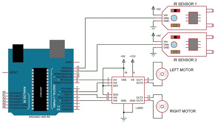 arduino motor shield schematic with Arduino Line Follower Robot on B Robot Mounting Instructions further Recycler Lecteurs Dvd Mini Traceur Cnc Plotter Arduino further Fritzing Part WeMos D1 Mini Shields besides Using A 3x4 Keypad furthermore Datasheets Pin Outs.