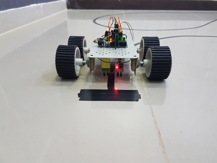 Arduino line follower robot