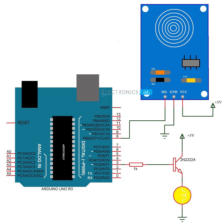Pleasing Touch Dimmer Switch Circuit Using Arduino Wiring Cloud Pendufoxcilixyz