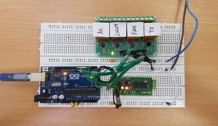Voice Activated Home Automation by using Arduino | IoT Smart
