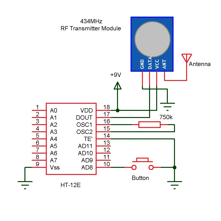 wireless doorbellwireless doorbell receiver circuit diagram