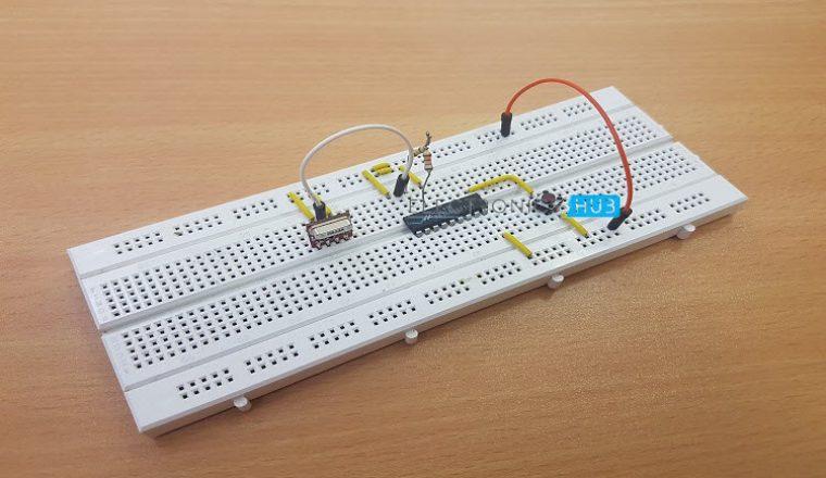 Circuit Diagram Of Wireless Door Bell Electronics Project