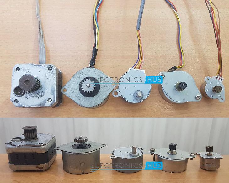 types of stepper motors