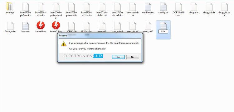 Enabling SSH Warning