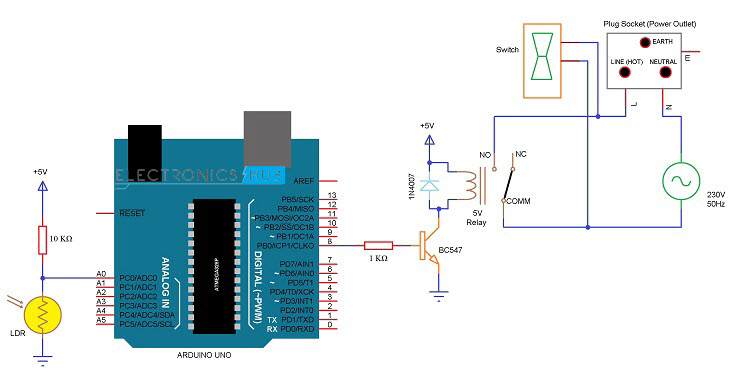 Rs232 To Arduino Circuit Diagram Electronic Circuits Diagram