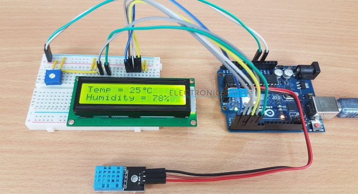 DHT11 Humidity Sensor on Arduino