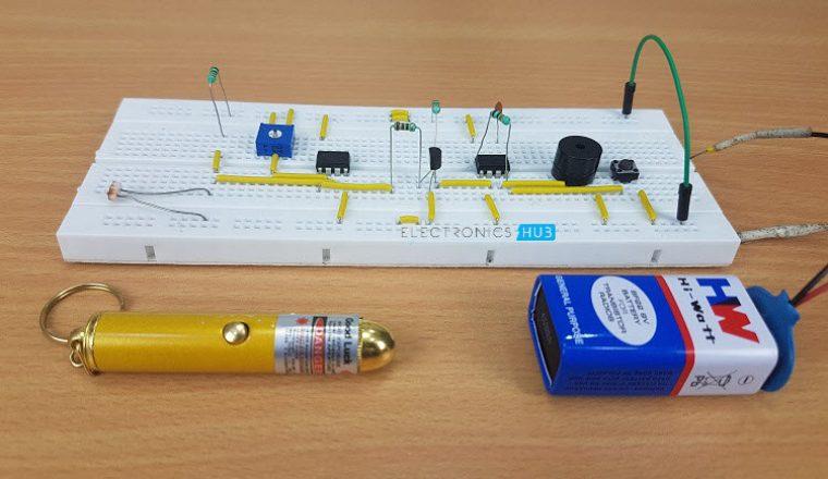 Laser Security System Image 1