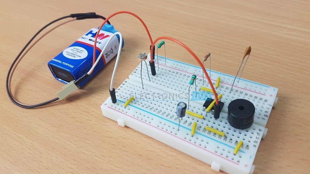 Following Circuit Shows About Lm324 For Parking Sensor Circuit Diagram