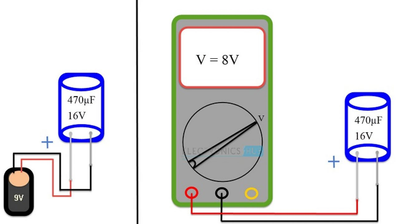 How to Test a Capacitor?  Wire Fluke Calitor Wiring Diagram on