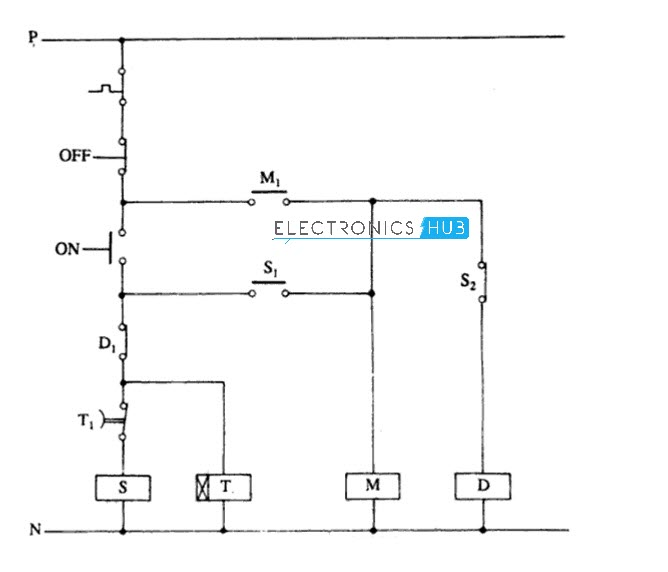 Automatic star delta wiring diagram wiring diagram star delta starter for 3 phase motor rh electronicshub org fully automatic star delta starter wiring diagram automatic star delta starter with timer wiring ccuart Image collections