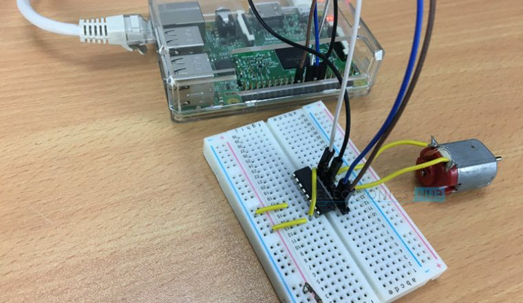 Controlling a DC Motor with Raspberry Pi Image 2