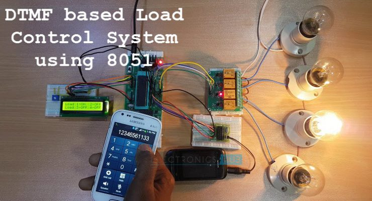 DTMF based Load Control System using 8051