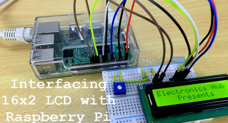 Interfacing 16×2 LCD with Raspberry Pi