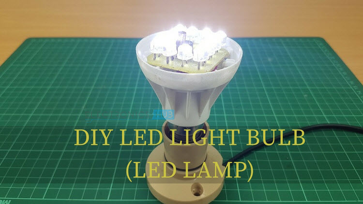 Diy Led Light Bulb Led Lamp