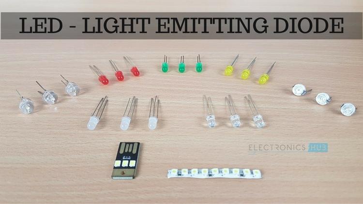 Led Light Emitting Diode Basics Types And Characteristics
