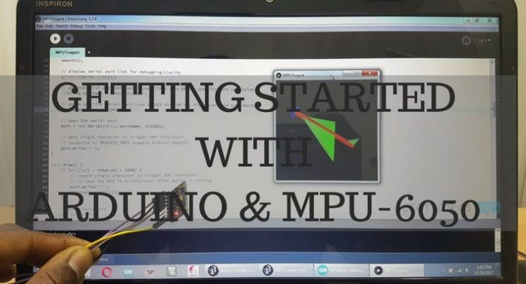Getting Started With Arduino and MPU6050