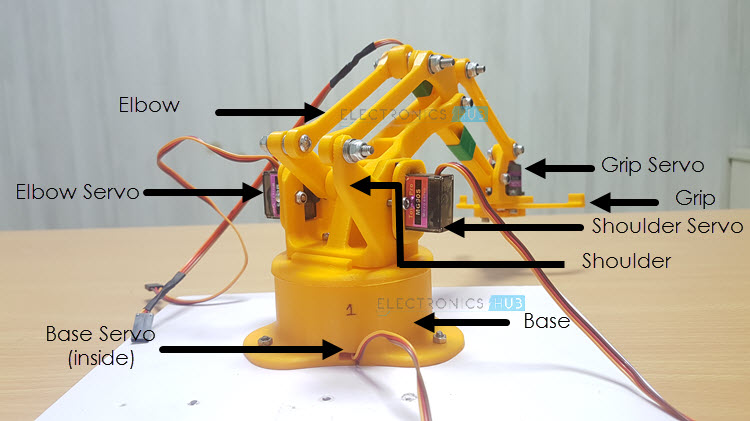 DIY Arduino & Bluetooth Controlled Robotic Arm Image 11