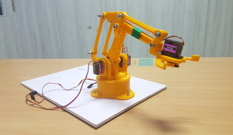 DIY Arduino & Bluetooth Controlled Robotic Arm Image 4