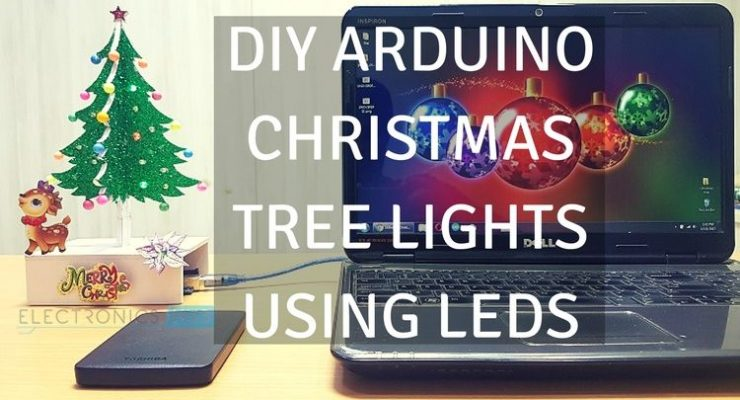 DIY Arduino Christmas Tree Lights using LEDs