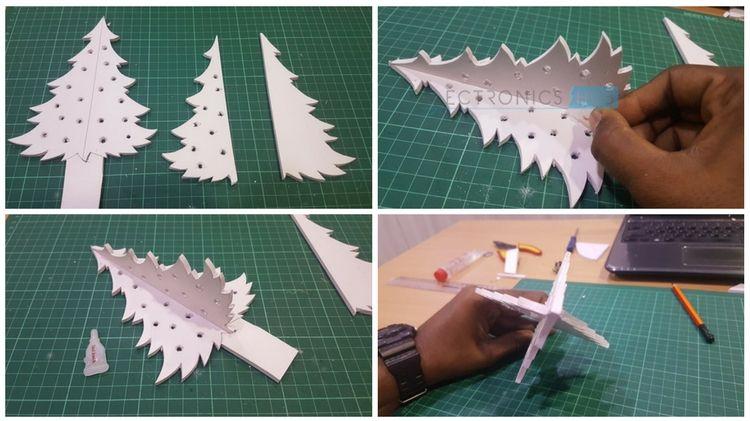 DIY Arduino Christmas Tree Lights using LEDs Image 7