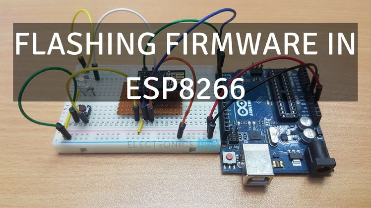How to Update Flash ESP8266 Firmware - Flashing Official AT