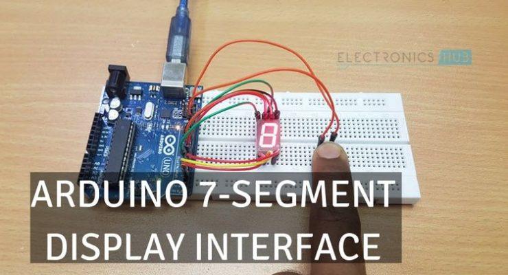 Arduino 7 Segment Display Interface
