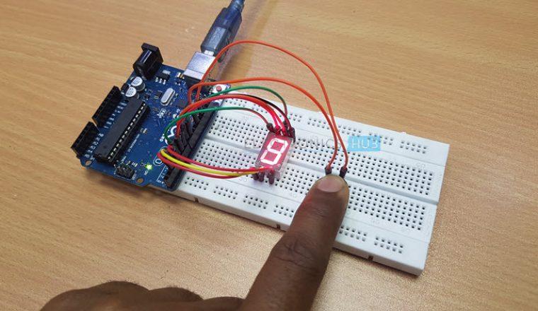Arduino 7 Segment Display Interface Image 2
