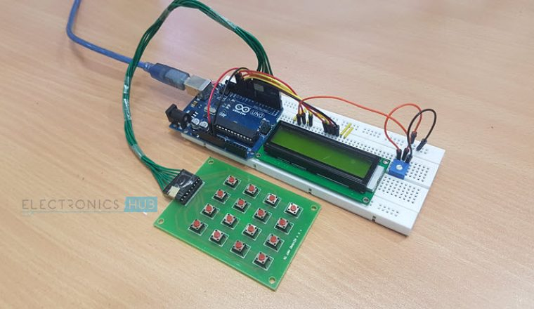Arduino Keypad Tutorial | How to Interface 4x4 Keypad with