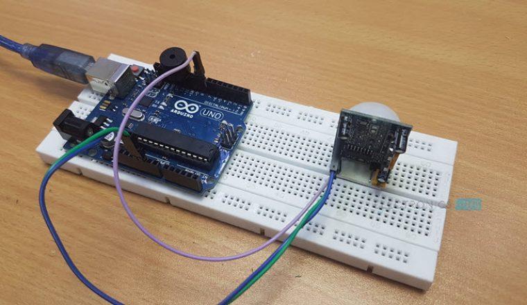 Arduino PIR Sensor Tutorial Image 1
