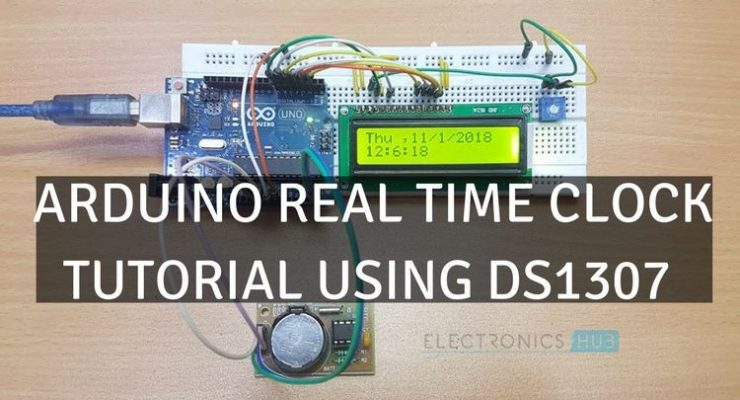 Arduino Real Time Clock Tutorial using DS1307