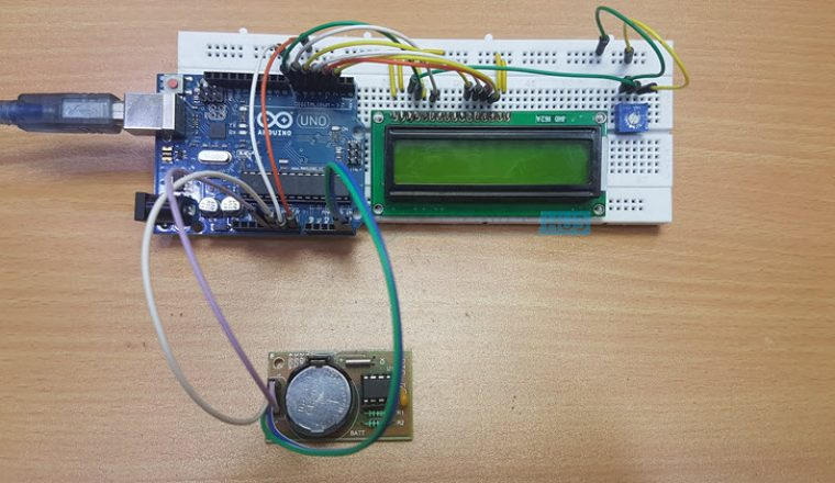 Arduino Real Time Clock (RTC) Tutorial using DS1307