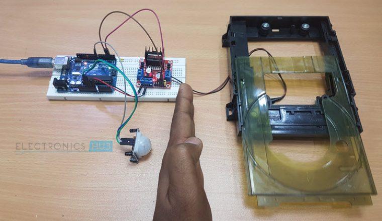 Automatic Door Opener using Arduino and PIR Sensor Image 2