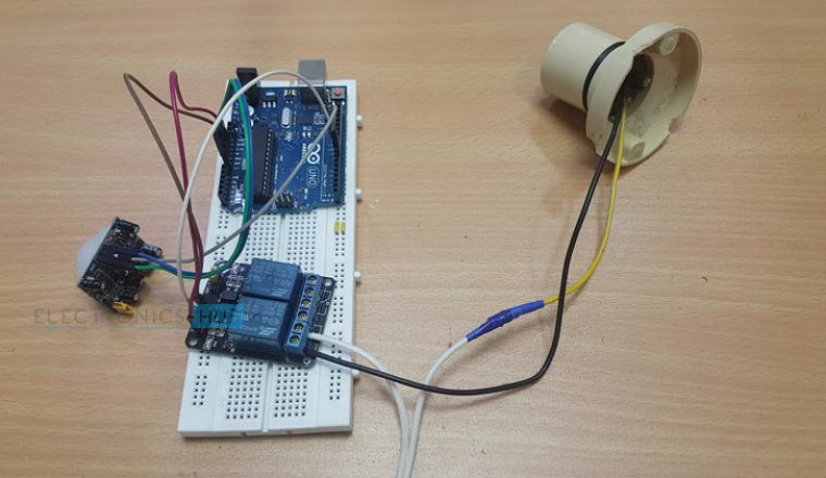 automatic room lights using arduino and pir sensor image 1