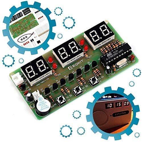 Icstation Clock DIY Electronic Soldering Kit