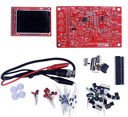 10 best oscilloscope kits for beginners kuman dso 138 diy kit open source 24 tft 1msps digital oscilloscope kit solutioingenieria Image collections