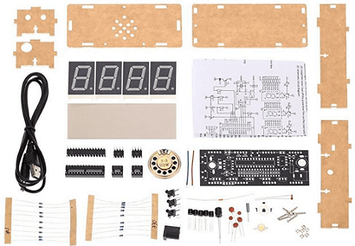 how to build a digital clock