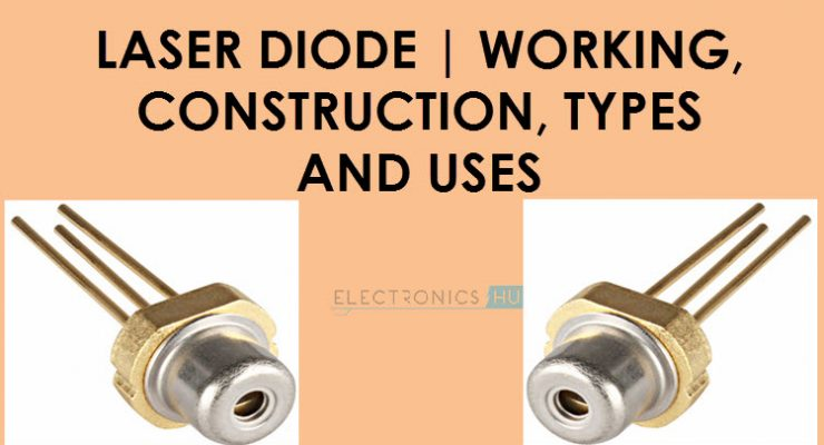 What is a Laser Diode? Its Working, Construction, Different Types and Uses