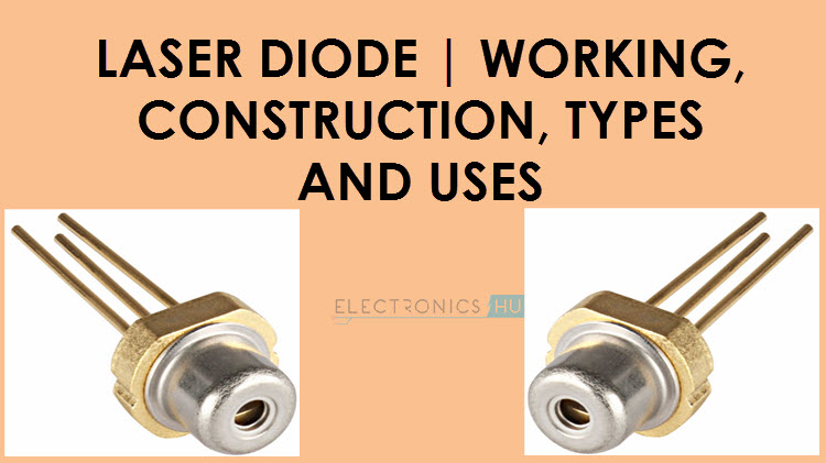What is a Laser Diode? Its working, Construction, Types and Uses