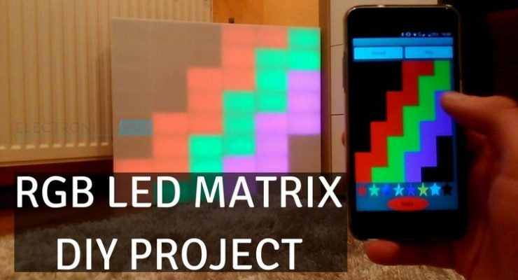 DIY RGB LED Matrix