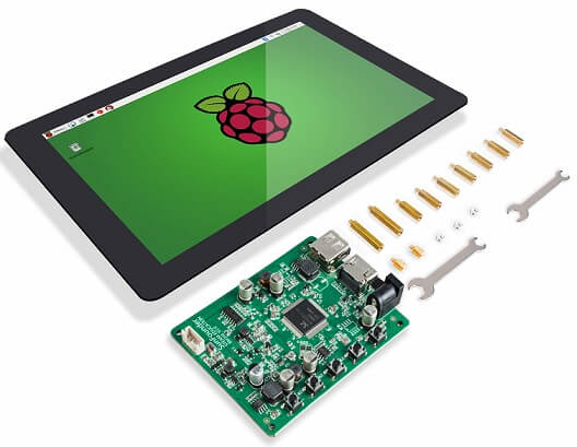 Raspberry pi 10inch touch screen