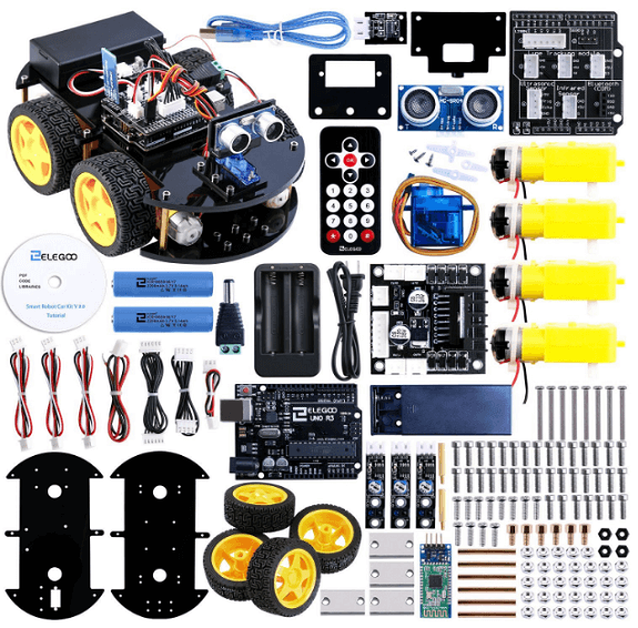 top 15 best arduino robot kits for beginners. Black Bedroom Furniture Sets. Home Design Ideas