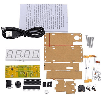 Top 10 Best DIY Digital Clock Kits: 2019 Reviews