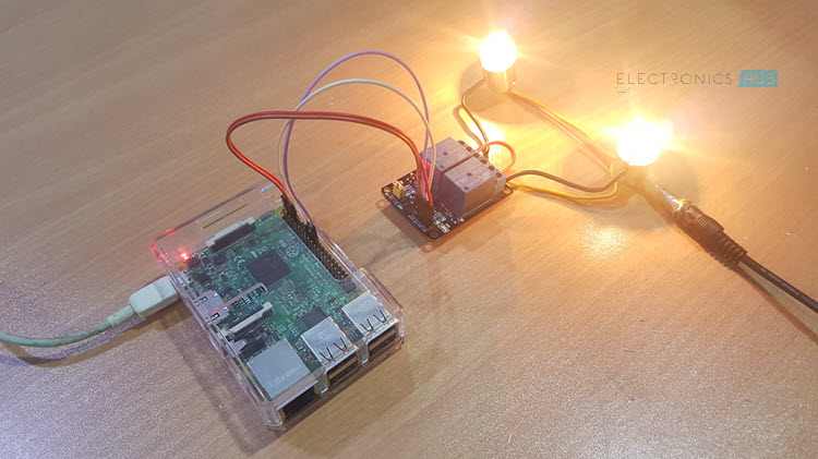 How to Control a Relay using Raspberry Pi Image 1