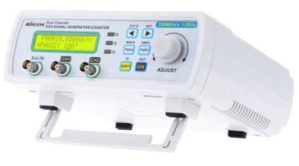 KKmoon High Precision Digital DDS Dual-channel Signal Source Generator Arbitrary Waveform Frequency Meter