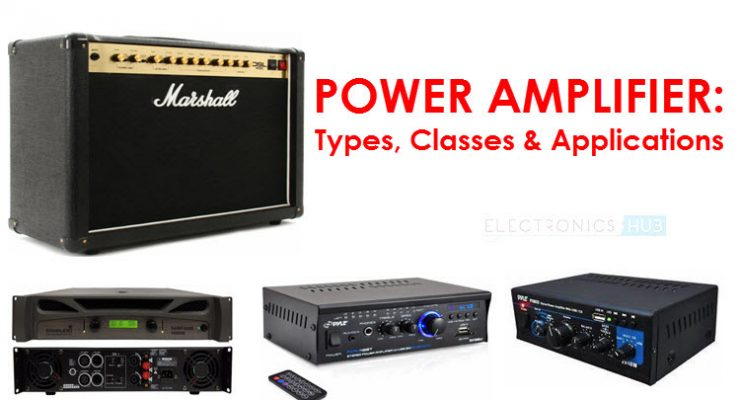 What is a Power Amplifier? Types, Classes, Applications
