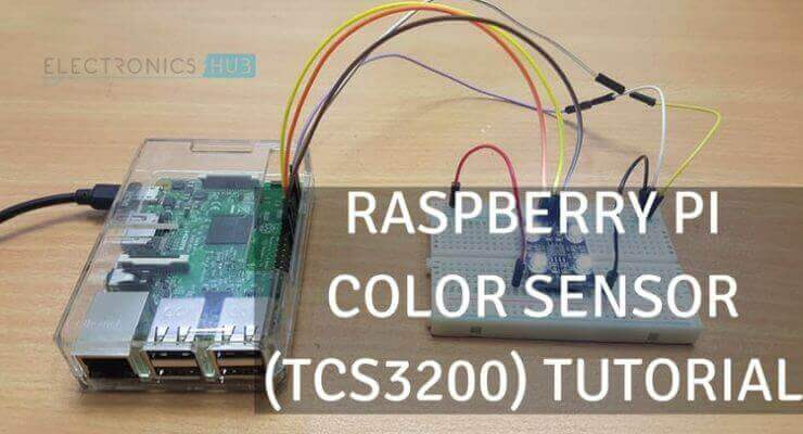 Raspberry Pi Color Sensor Tutorial | Color Detector using TCS3200
