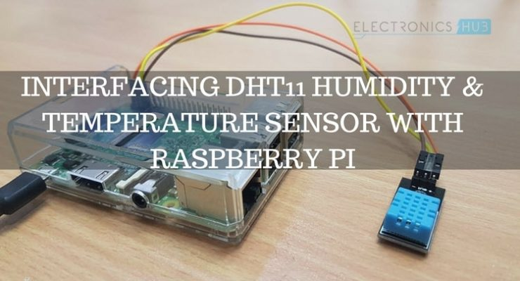 Raspberry Pi DHT11 Humidity and Temperature Sensor Interface