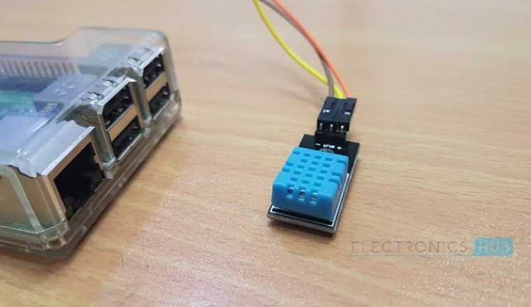 Swell Raspberry Pi Dht11 Humidity And Temperature Sensor Interface Wiring Database Ilarigelartorg